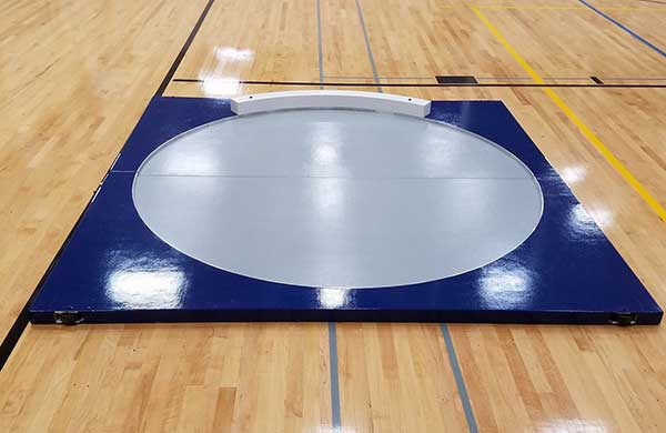 Indoor Throwing Circle