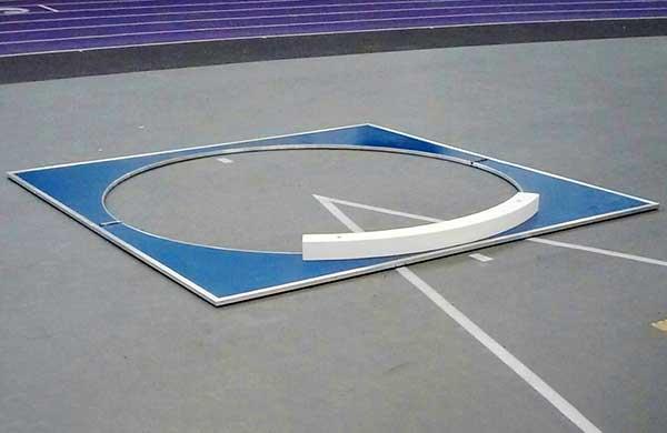 Throwing circle